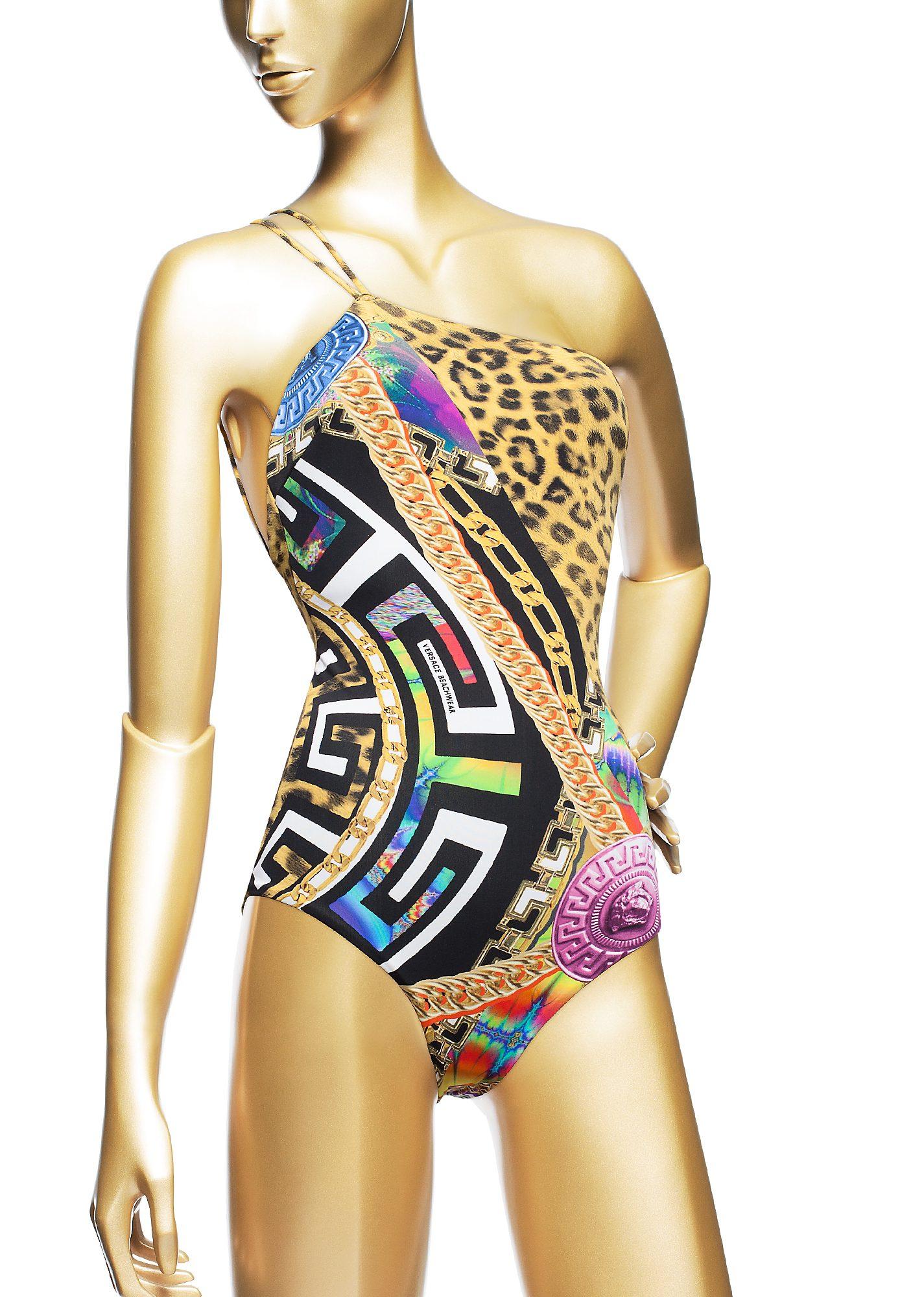 купальник Versace AB411018-AL00063 A7028 парфюмерная вода versace versace объем 50 мл вес 100 00