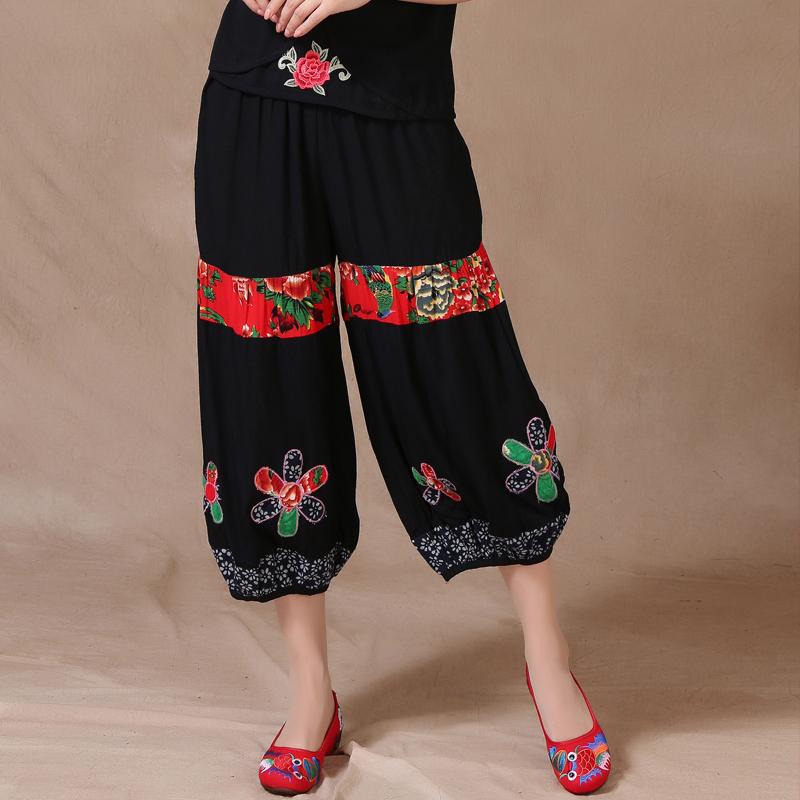 Национальные китайские брюки Han purple Tong x 21495 рубашка мужская overlord han 152 2015