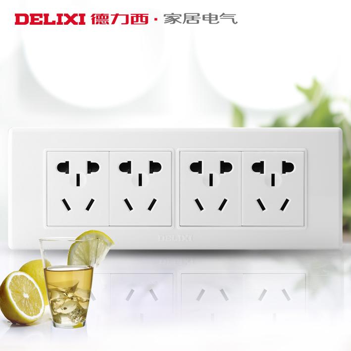 Электрическая розетка Delixi  118 12