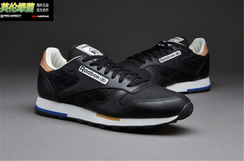 Кроссовки Reebok  -CL-Leather-Casual-Black