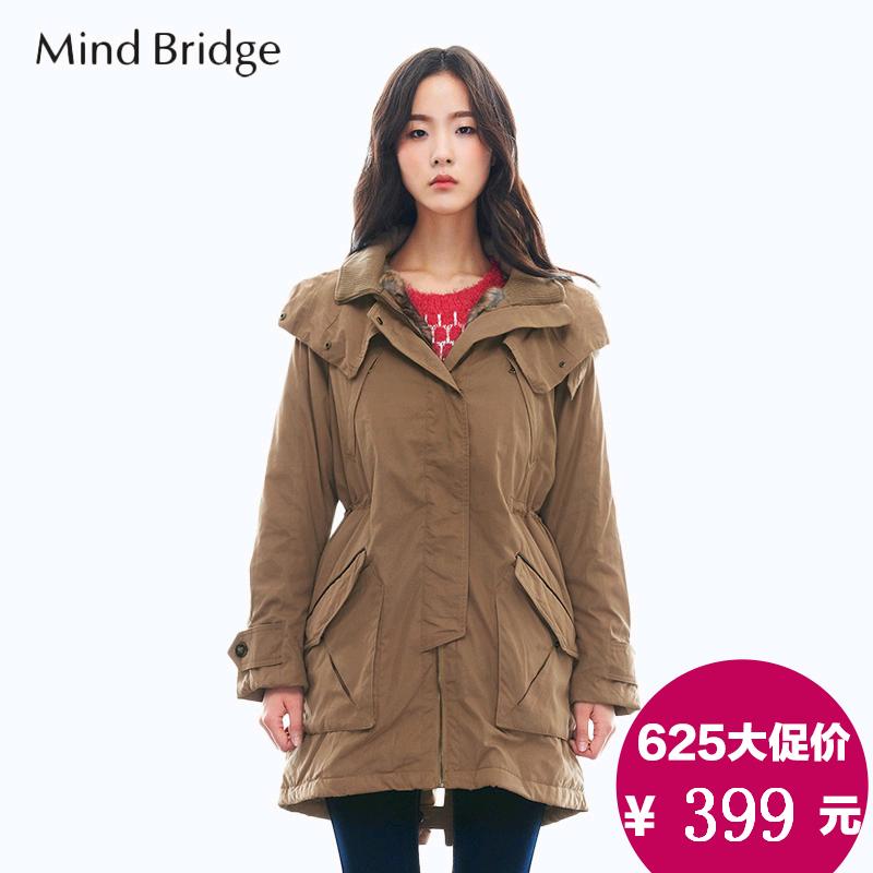 Женская утепленная куртка Mind bridge mmjp125h конструкторы bridge большой кафе 175 деталей
