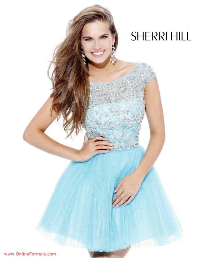 Вечерние платья Шерри Хилл 2814 тост одежды длинные платья невесты платье MC