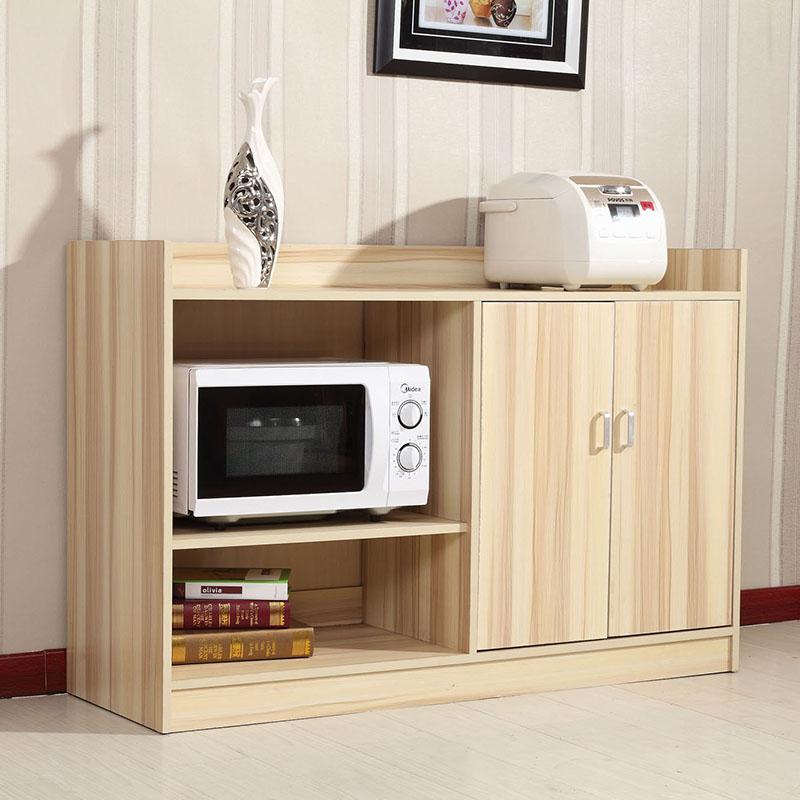 Буфет 包邮大容量阳台储物柜 餐边柜 现代简约厨房柜 微波炉柜 厨具柜