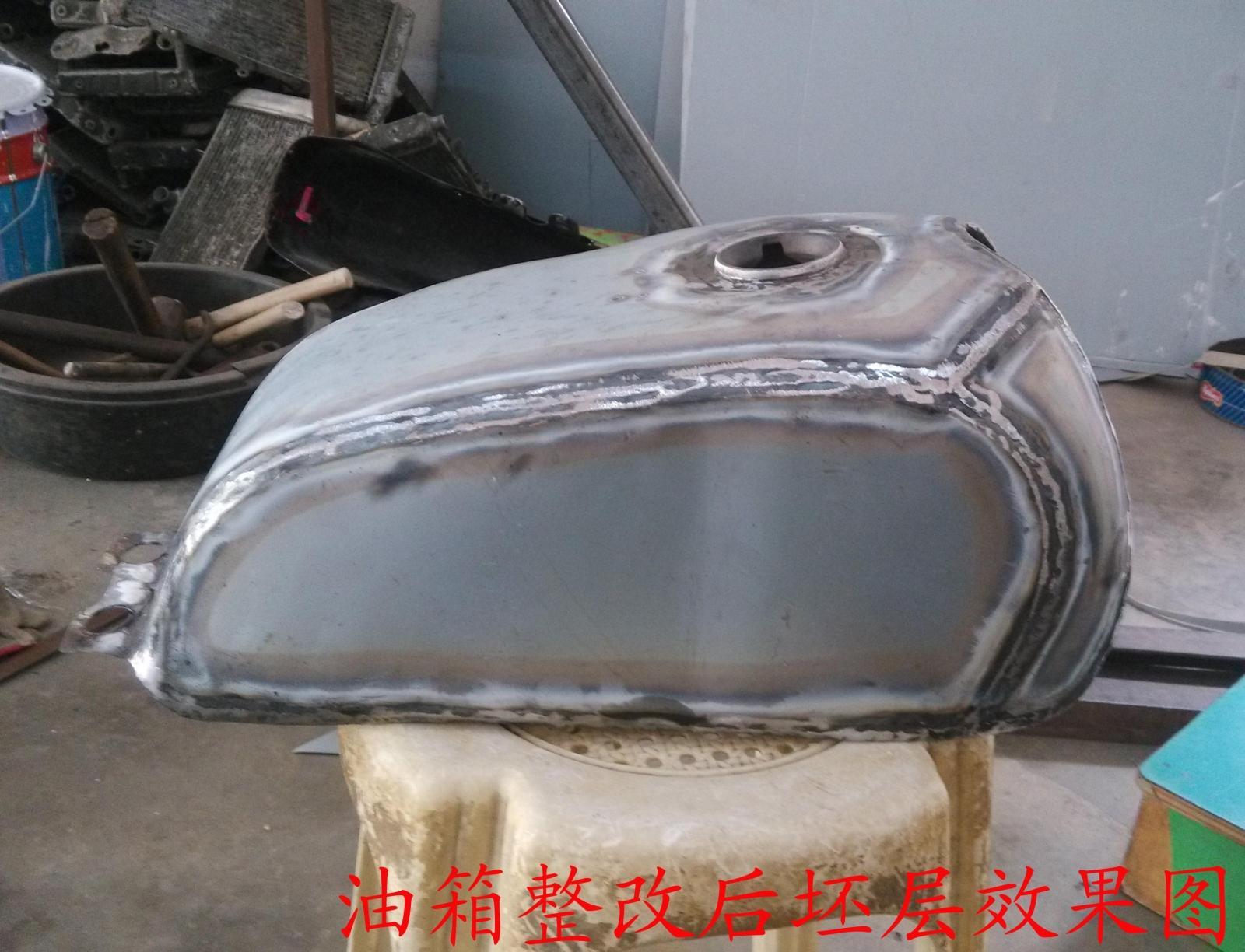Крышка для топливного бака Tateishi MQ ремонт на различных моделях мотоциклов топливного бака модификации процесса модификации сделан ремонт краска