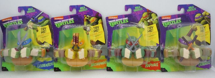 Игрушка Wicked cool toys  Nickelodeon TMNT Turtles Knuckles wicked ways