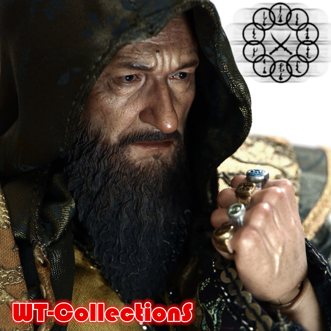 Военные игрушки для детей Hot Toys  WT Hottoys HT 1/6 the canterbury tales a selection