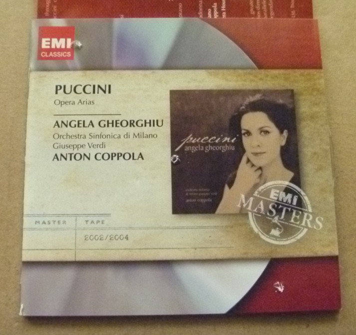 Музыка CD, DVD   Angela Gheorghiu Puccini Opera Arias uiisii dual dynamic subwoofer hifi earphone headset noise cancelling wired in ear earbuds with mic and control button earphone