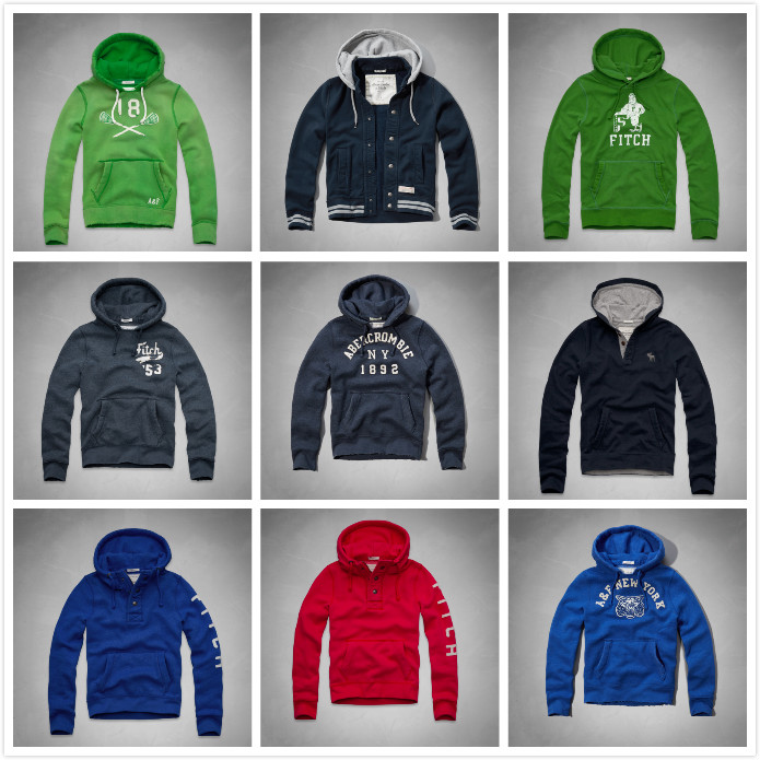 Толстовка Abercrombie & fitch  Abercrombie Fitch AF Hoodie