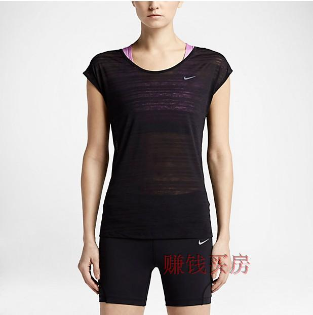 Спортивная футболка Nike DF TOUCH BREEZE STRIPE 644711-589045 сумка спортивная nike nike ni464bwrym11