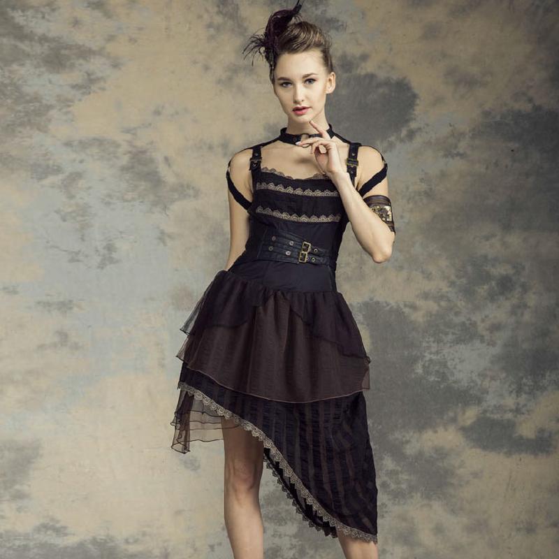 цены Женское платье Rq/bl sp146bk RQ-BL STEAMPUNK