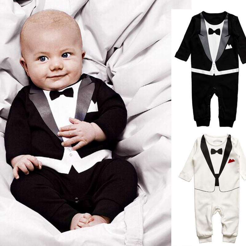 Комбинезон, Ползунки, Боди OTHER 579 1pcs Cotton White Baby Gentle Boy Romper Set For Newborn newborn kids baby boy girl infant romper jumpsuit clothes outfit set bebe