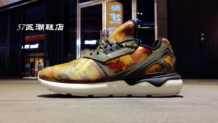 Кроссовки Adidas Originals Tubular Runner Leaf Camo D68976 цена