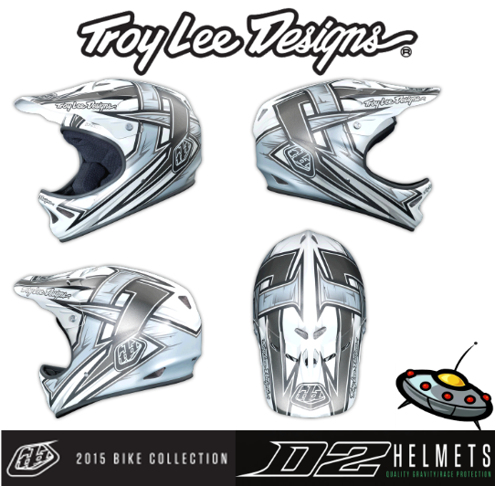 велошлем Troy Lee Designs D2 2015 TLD DH KALI FOX POC