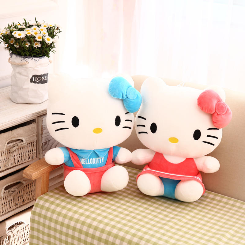 Мягкая игрушка Hello Kitty KT cxzyking 20cm sweet new kt cat hello kitty plush toys cute hug mushroom hello kitty kt cat pillow dolls for kids baby girl gift