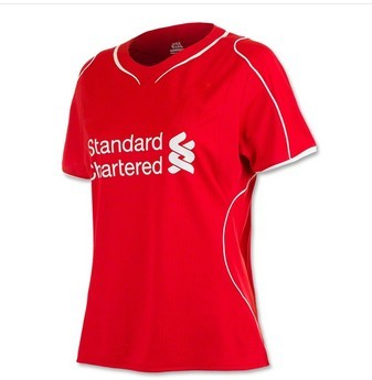 Футбольная форма   Top Thai,liverpool Home Women 2014/15,10#COUTINHO,7#SURREZ