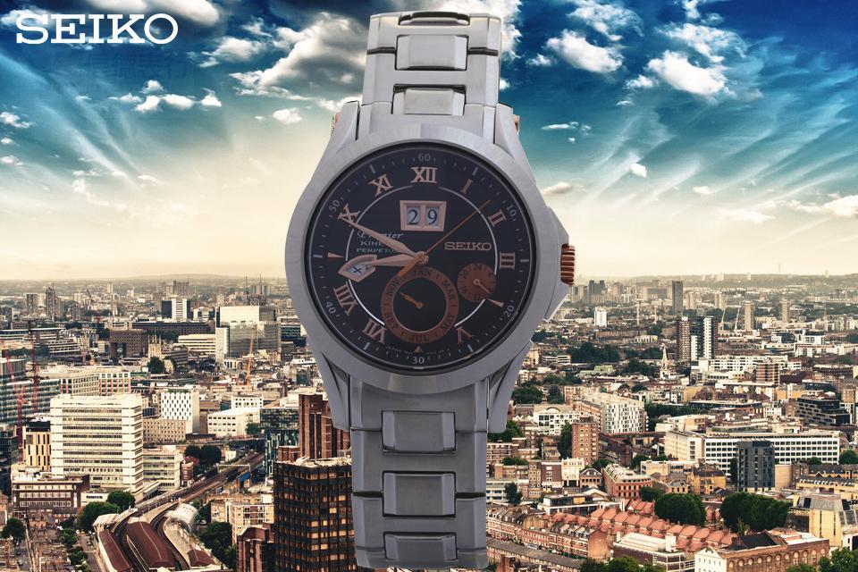цена Часы Seiko  SNP062J1 онлайн в 2017 году