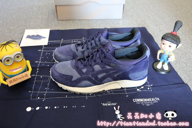 Кроссовки Asics  De Commonwealth Gel-Lyte кроссовки asics gel kayano19 k19 t300q 0101