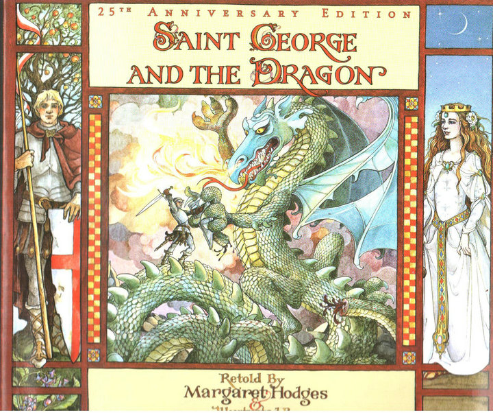 Комикс   Saint George And The Dragon chris wormell george and the dragon