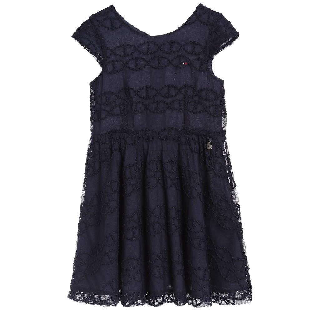 Женское платье Tommy hilfiger  15 Girls футболка детская tommy hilfiger 15