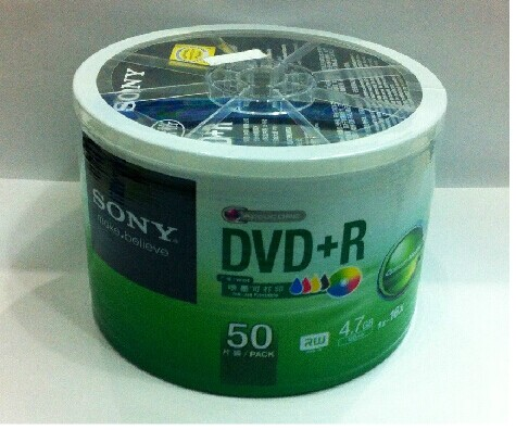 Диски CD, DVD Sony  DVD+R16X 50 laser head dvd v7 dvd 804c