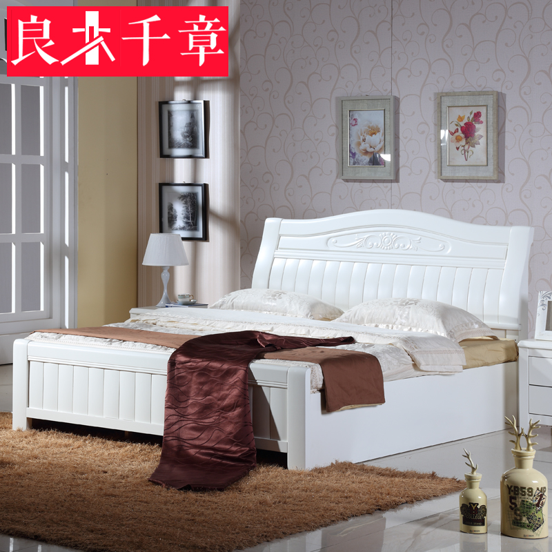Кровать из массива дерева Hongyi furniture  1.8 кровать из массива дерева austin furniture 1 8
