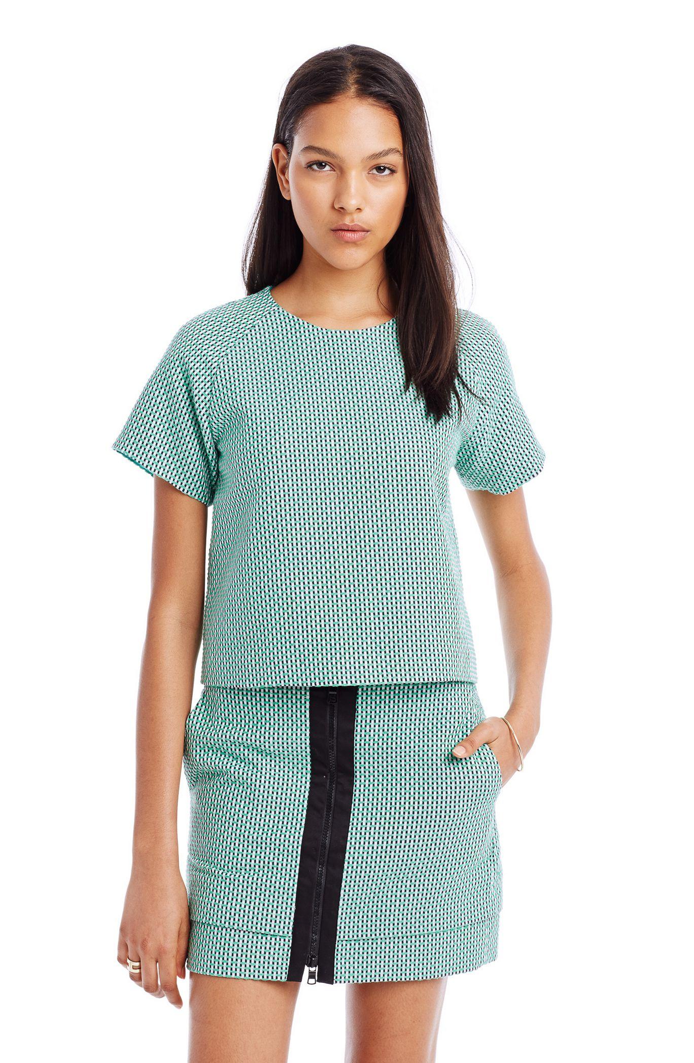 Спортивная футболка Emporio Armani  2015 AX Armani Exchange женская рубашка armani 85 ax 2015 j5c552