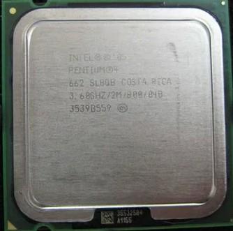 Процессор Intel Pentium4 660 3.6G/2M/800MHZ P4 660CPU 775 процессор intel cpu pentium4 516 2 93ghz 1m 533 lga 775