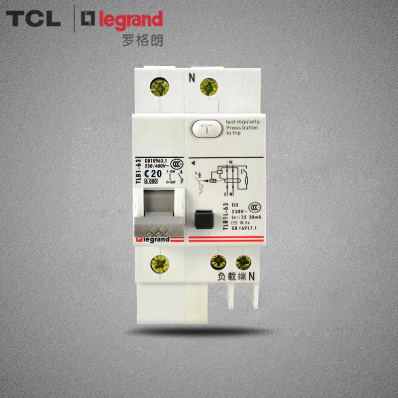 Автоматический выключатель дифференциального тока TCL  DPN 1P+N 20A сименс siemens компактный выключатель 16a 1p n дважды на входе 5sj30167cr