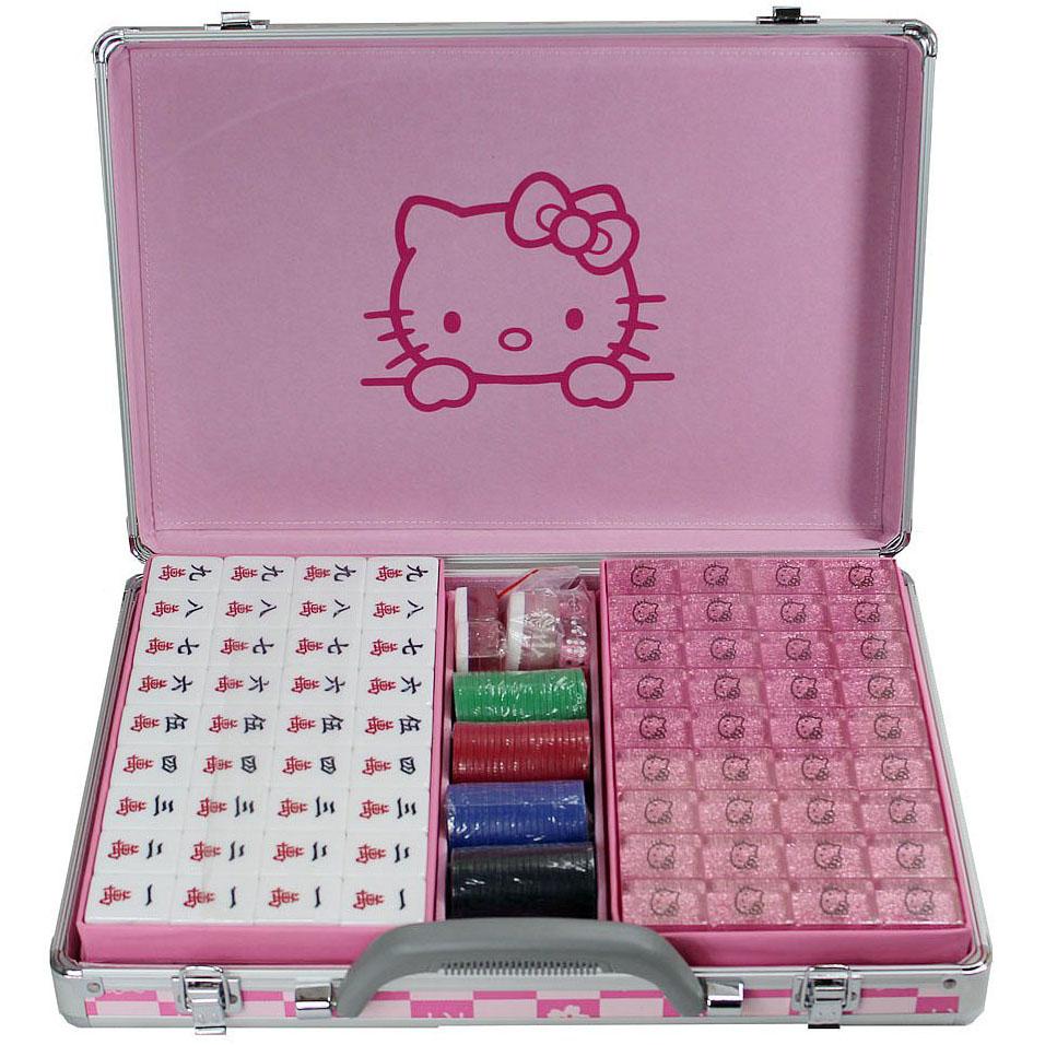 Набор для игры в Маджонг Hello kitty набор для плавания hello kitty hey32623 очки шапочка