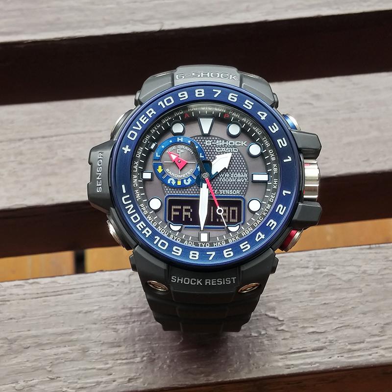 Часы CASIO  GWN-1000B-1B/1A/2A/9A 1000C часы casio g shock gulfmaster gwn 1000b 1b black navy