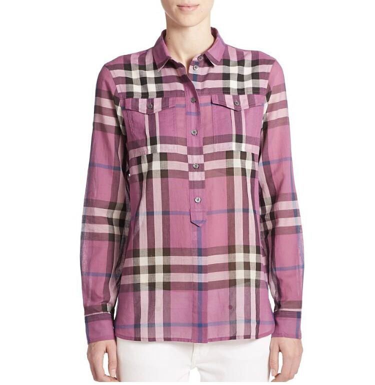 женская рубашка Burberry 39686761 burberry женская туалетная вода burberry body tender sby014a15 85 мл