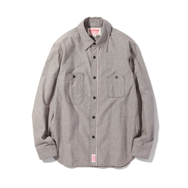 Рубашка мужская Neighborhood  HEADLIGHT.NP/C-SHIRT.LS 2015SS