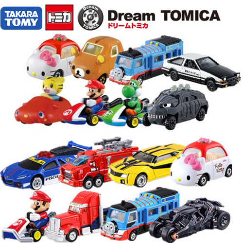 Модель машины Tomy TOMICA DREAM машины tomy прицеп big farm bulk tipping trailer