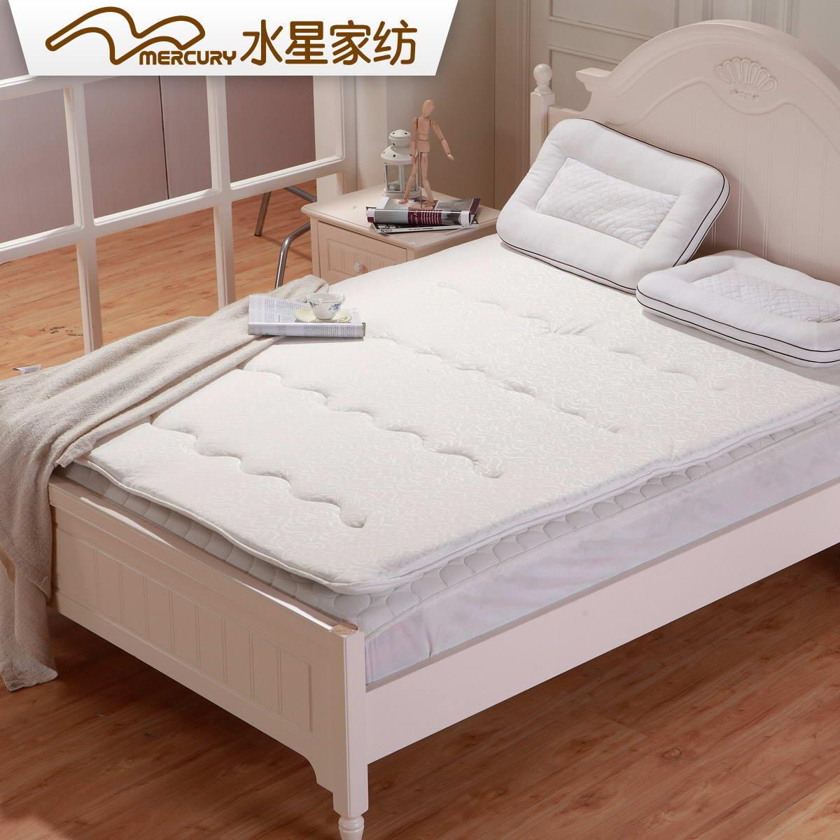 水星家纺负离子蚕丝床垫106732