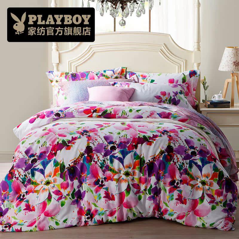 где купить Комплект постельного белья Playboy pbsjt/mm0009 по лучшей цене