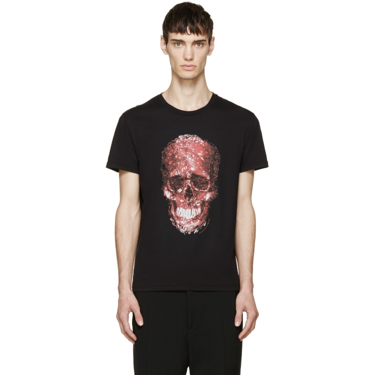Футболка мужская Alexander McQueen q01541874 McQ/T not a penny more not a penny less