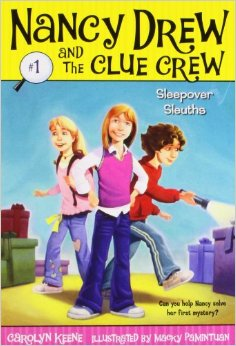 Sleepover Sleuths (Nancy Drew And The Clue Crew #1)/Carolyn lucky stars 8 the sleepover wish