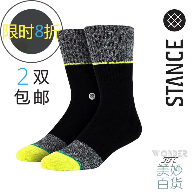 чулочно-носочные изделия Authentic stance Wade team NBA high/end basketball skateboard socks street fashion men socks STANCE NBA nba 2k16 ps3