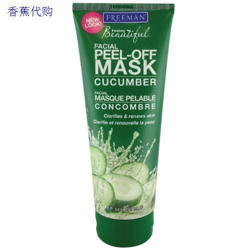 Мелодика Freeman Cucumber Facial Peel-Off Mask Oz Face Mask sleep with v artifact bandage bunch of mask tyra face firming facial thin double chin