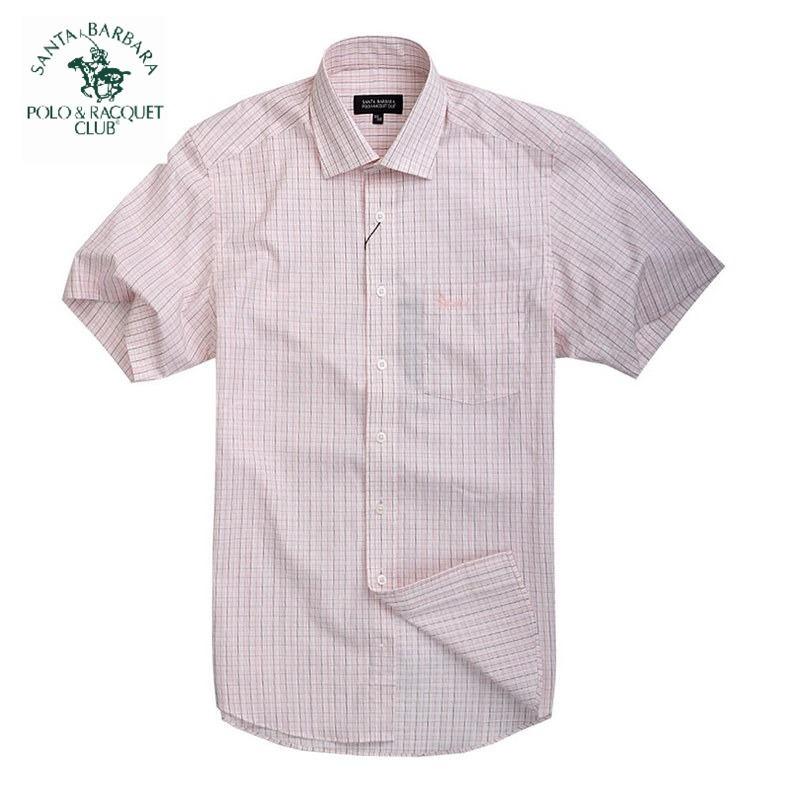 Рубашка мужская Santa Barbara, Polo & Racquet Club ps11wh114 POLO рубашка мужская santa barbara polo