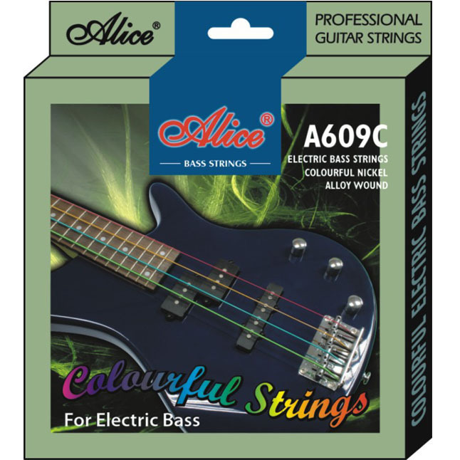 Струны для бас-гитары Alice A609C заказать бас гитары украина купить