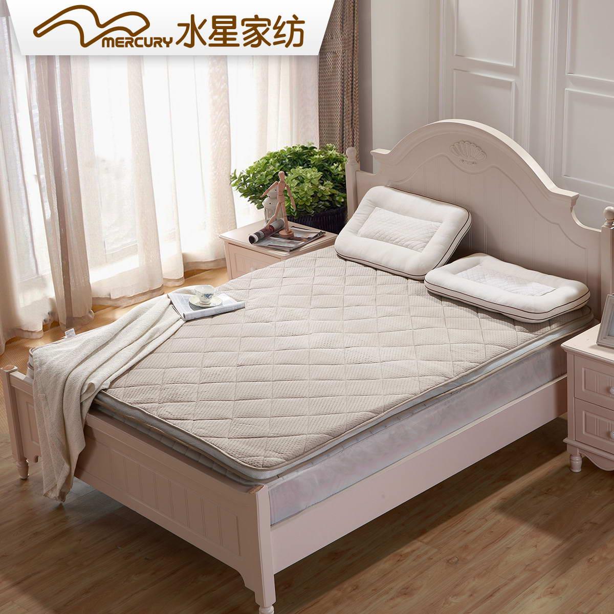 水星家纺法式竹炭立体床垫106734