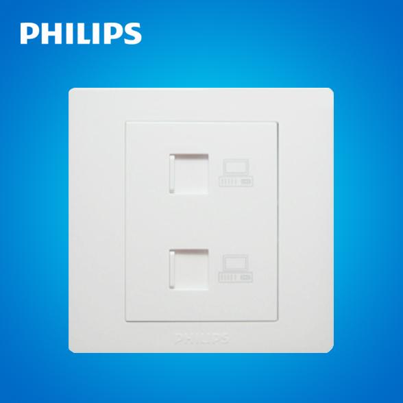Розетка сетевая LAN Philips  Q6 86 Q6-ZT0202 уличный светильник 16271 86 16 philips