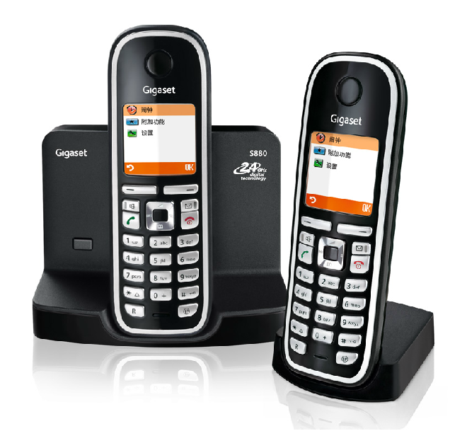 Проводной и DECT-телефон Siemens S880 проводной и dect телефон tcl gf100