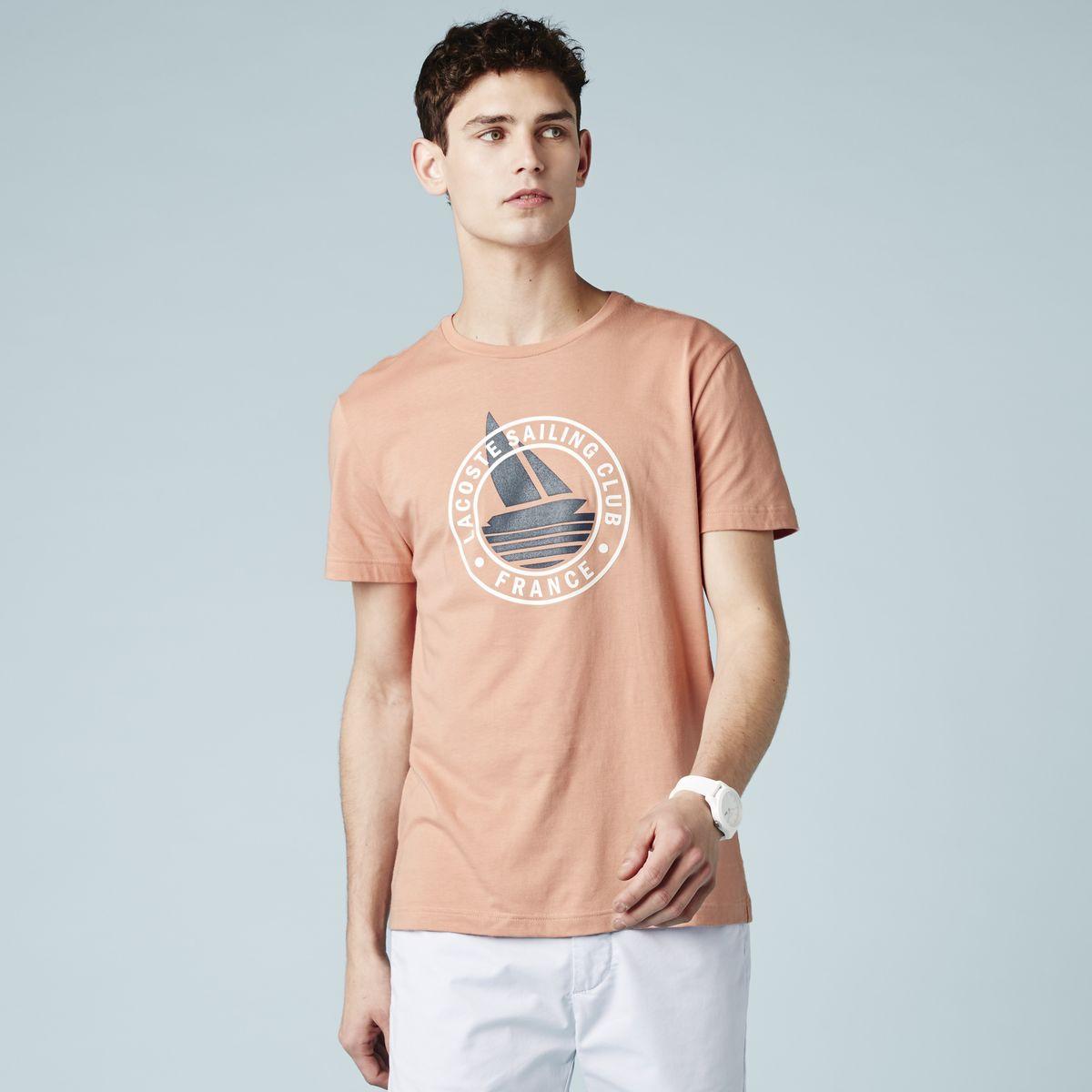 Футболка мужская Lacoste th96509ami1 lacoste футболка lacoste модель 25628633