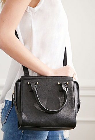 Сумка F21 Leather Mini Satchel сумка the cambridge satchel