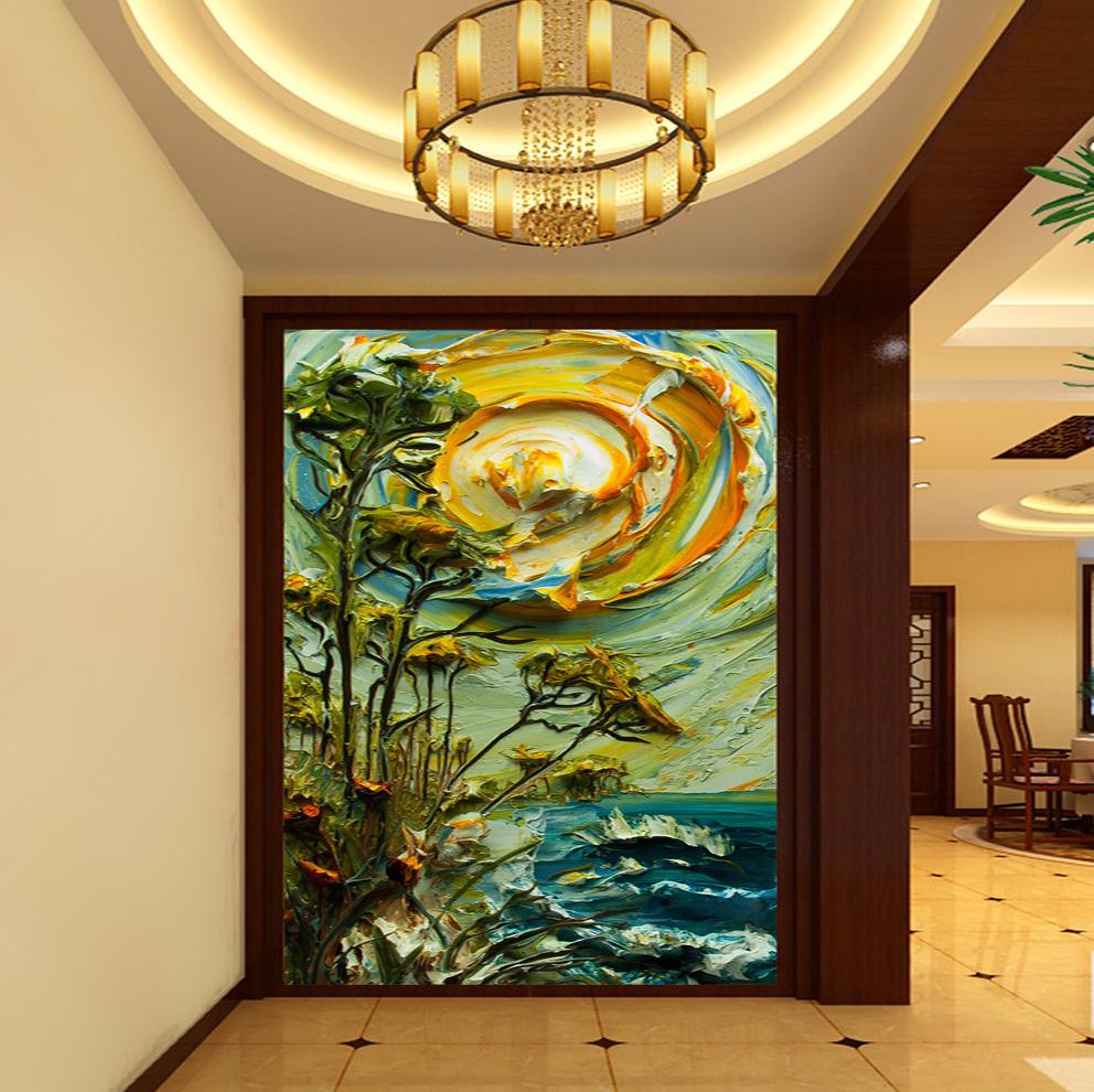 Флизелиновые обои Tevez murals  3D флизелиновые обои yan kee 3d