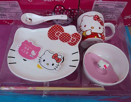 Набор фарфоровой посуды Hello kitty simba hello kitty набор погремушек