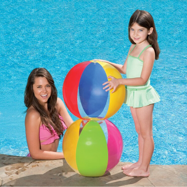 надувной мяч Intex 59032 Beach Ball 59032 6 5ft diameter inflatable beach ball helium balloon for advertisement