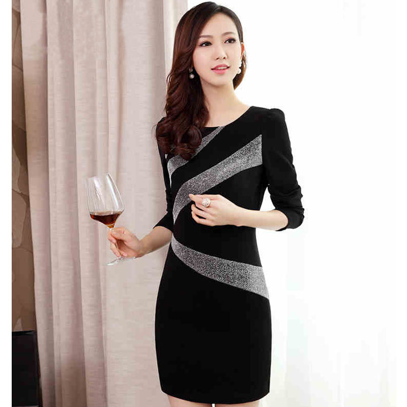 Платье с длинным рукавом купить с доставкой